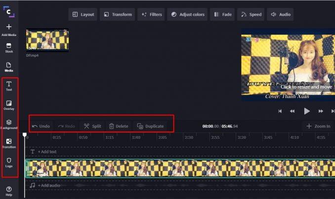 Hướng dẫn cách edit video online với Clipchamp.com 8